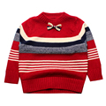 Casual Boy Sweater O Neck Crochet Cotton Kids Clothes Knit Tee Toddler Tops Boys Pullover Outfit Children Clothing Winter 2016
