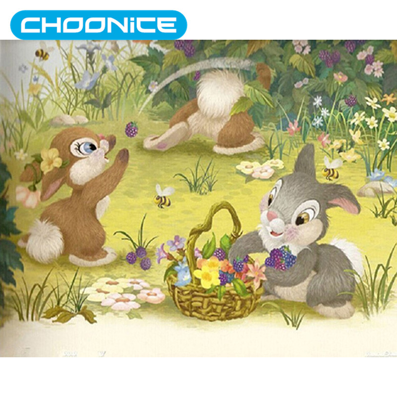 Pokemon Diamond 3D Diamond Painting Rabbit DIY 3D Cross-stitch Flowers Cartoon A Picture Of Rhinestones Mosaic Drawings Painting