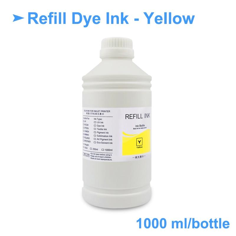 4x1000ml de tinta corante universal kit de 04