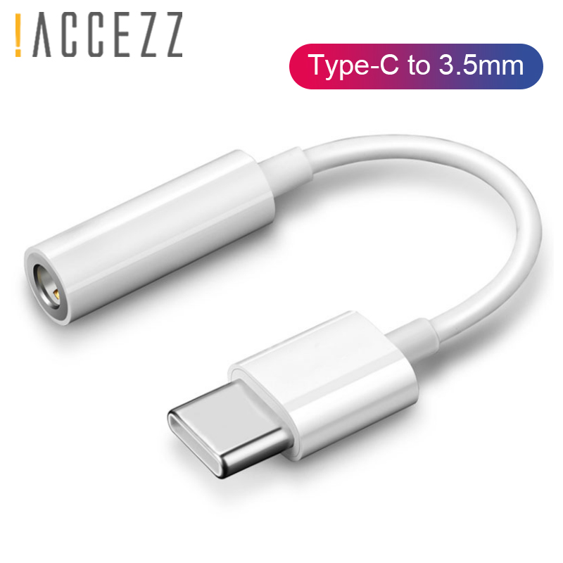 !ACCEZZ Type-C Audio Adapter For Huawei For P20/P20 Pro/Mate 10 Pro 20 LG Connector Aux Cable Calling Listening USB Type C 3.5mm
