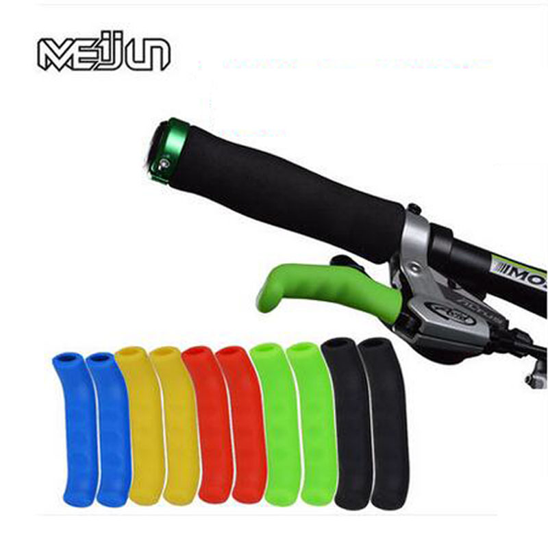 Mountain Bike Lever Cover Handlebar Grip Brake Lever Silicone Cover Protector SS