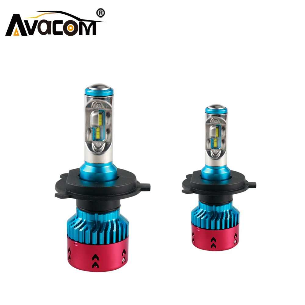 H7 H1 H4 LED 16000lm Car Bulb 12V H11/H8 H15 9005/HB3 9006/HB4 HIR2 ZES Chip 6500K 72W LED Car HeadLights Luces LED Para Auto