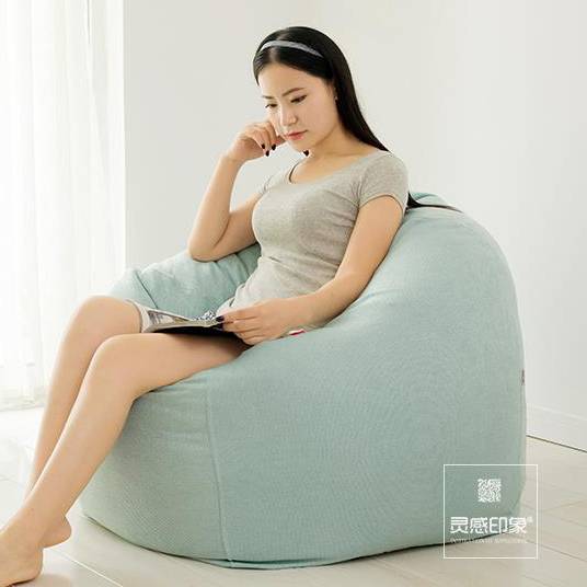 90X90CM Style Bean Bag Chair Garden Camping Beanbags Covers Lazy Sofa Anywhere Portable Sitting Cushion