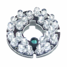 60 градусов CCTV аксессуары инфракрасный светильник 24 зерна ИК светодиодный для камер наблюдения ночного видения диаметр 44 мм