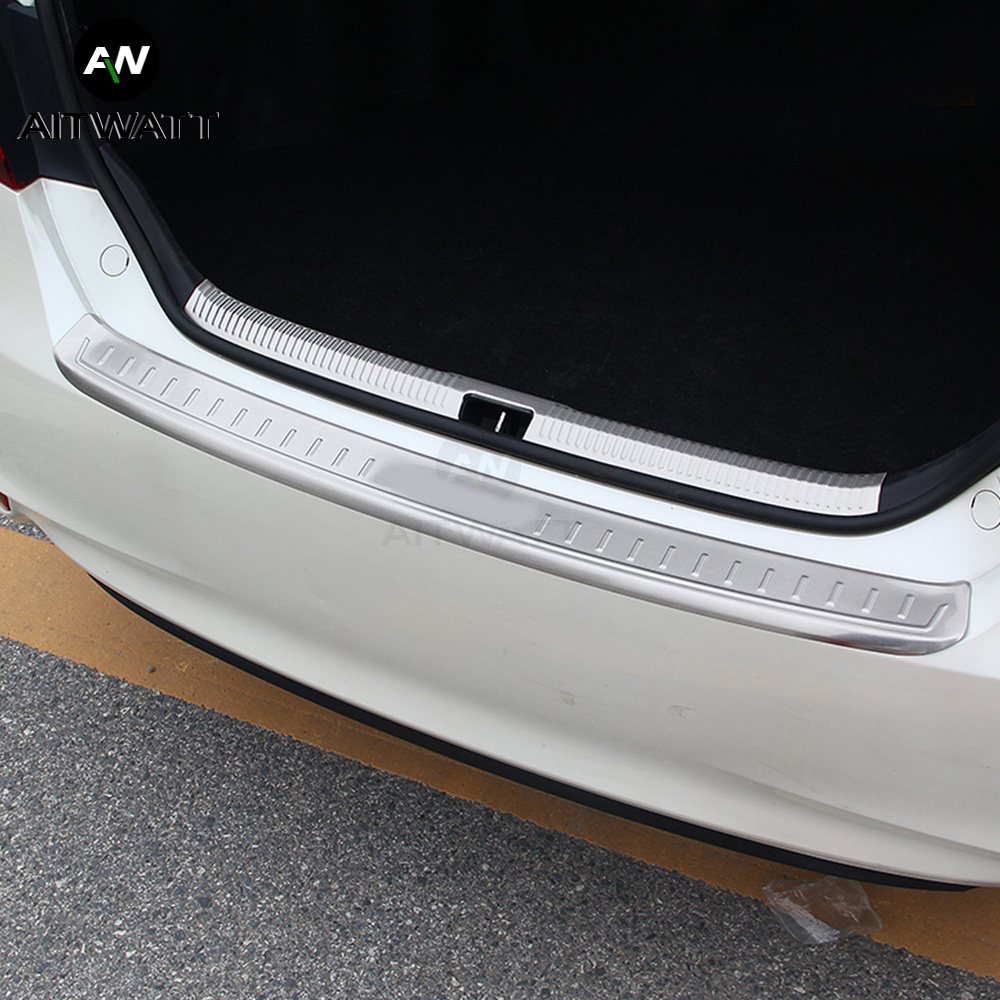 for Toyota Camry 2018 2019 Steel Outer /& Inner Rear Bumper Protector Plate 2pcs