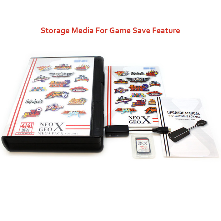 NEOGEO X Mega Pack Vol 1 for NEOGEO X GOLD System 15 Games