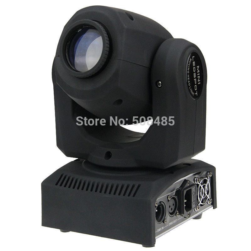 4pcs/lot Eyourlife LED Inno Pocket Spot Mini Moving Head Light 30W DMX dj 8 gobos effect stage lights багажники inno