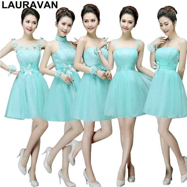formal brides made knee ice blue bridesmaid dress size strapless bra dresses  for teens girl patterns size 4 free shipping 021222ce0860
