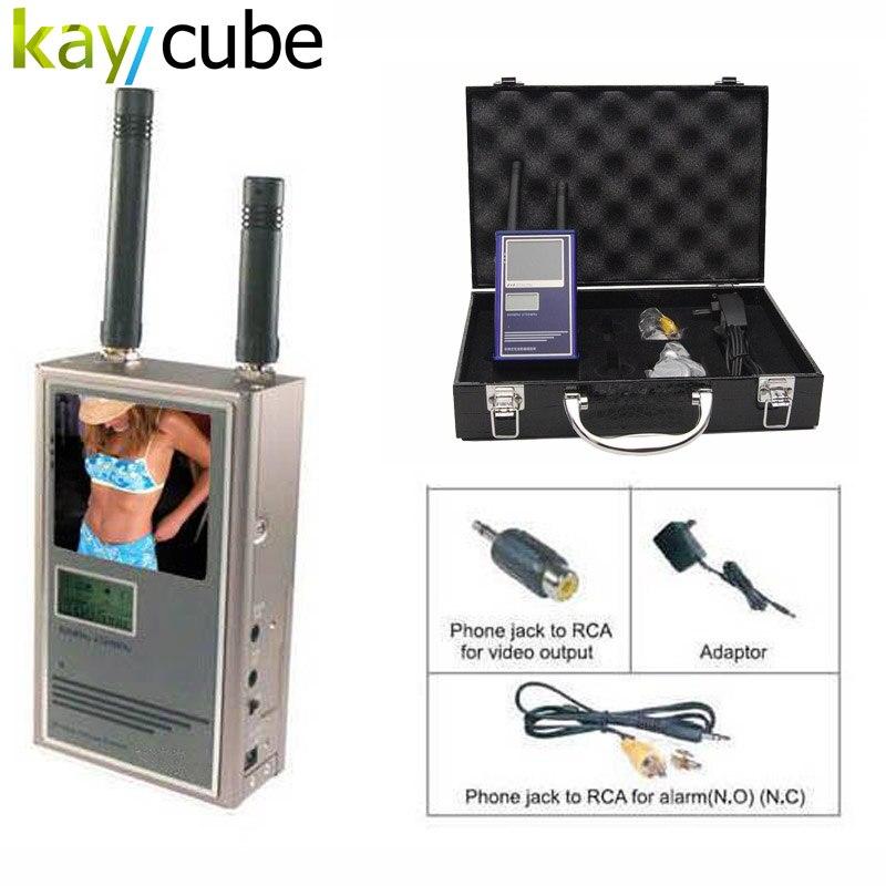 Автоматическое сканирование ручной Беспроводной Камера сканер Офис безопасности Беспроводной Камера Hunter детектор/v-приёмника Мониторы ...