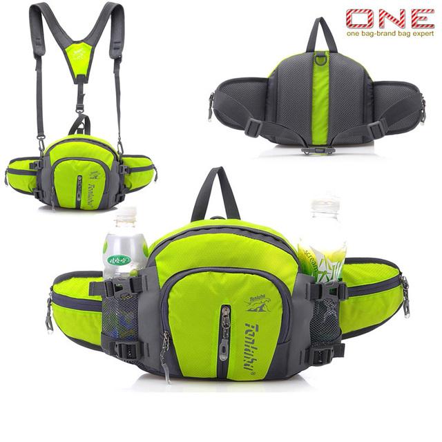 Moda Multifunción paquetes de la cintura a prueba de agua de viaje bolsas paquetes de la cintura de la cintura ocasional PT475
