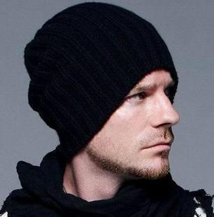 2016 Free shipping Man hat fashion autumn/winter wool hat David Beckham