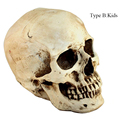 Creative Horror Resin Skull Halloween Party DIY Decoration Tool Kids Gift Terrorist Spoof Props
