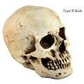 Horror criativo Resina Crânio Paródia Terrorista Adereços Festa de Halloween DIY Ferramenta Decoração Caçoa o Presente