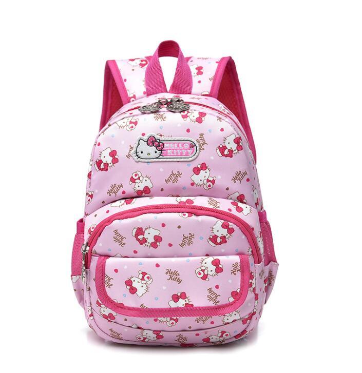 New Backpack Child School Bag Cartoon Hello Kitty Backpack Kid Kindergarten Schoolbag For Kid Mochila Infantil