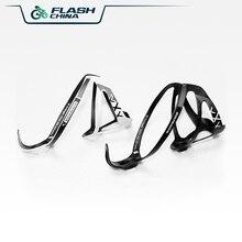 цена Flash Road Bike Carbon Fiber Bottle Cage Cycling Drink Water Bottle Rack Holder Mountain Black White Superlight High Toughness онлайн в 2017 году