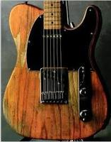 Relic Custom shop Half a gloss electric guitar with AAA grade Maple Country tobacco body top ems free shipping