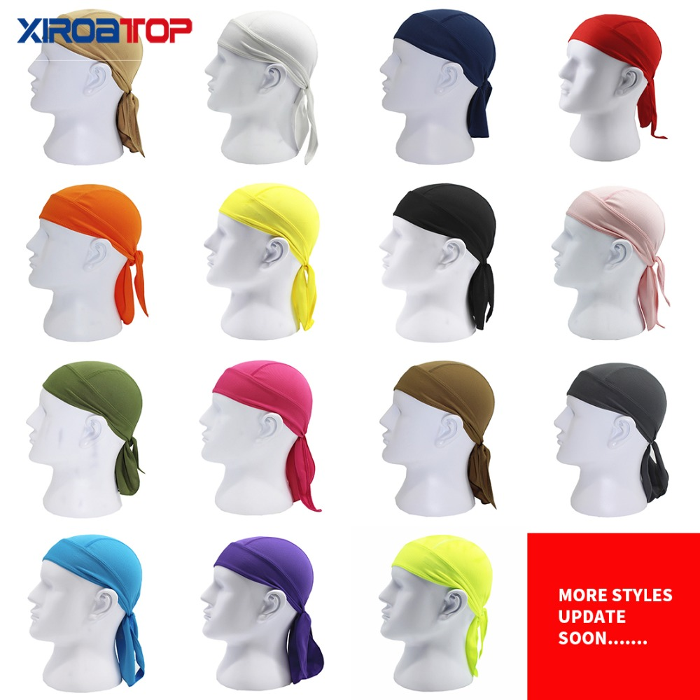 Sports & Entertainment Cycling Clothings New Men Pure Quick-drying Cycling Head Cap Scarf Summer Running In Bandana Cycling Hat Pirate Hood Headband Sun Protect Cool In Summer And Warm In Winter