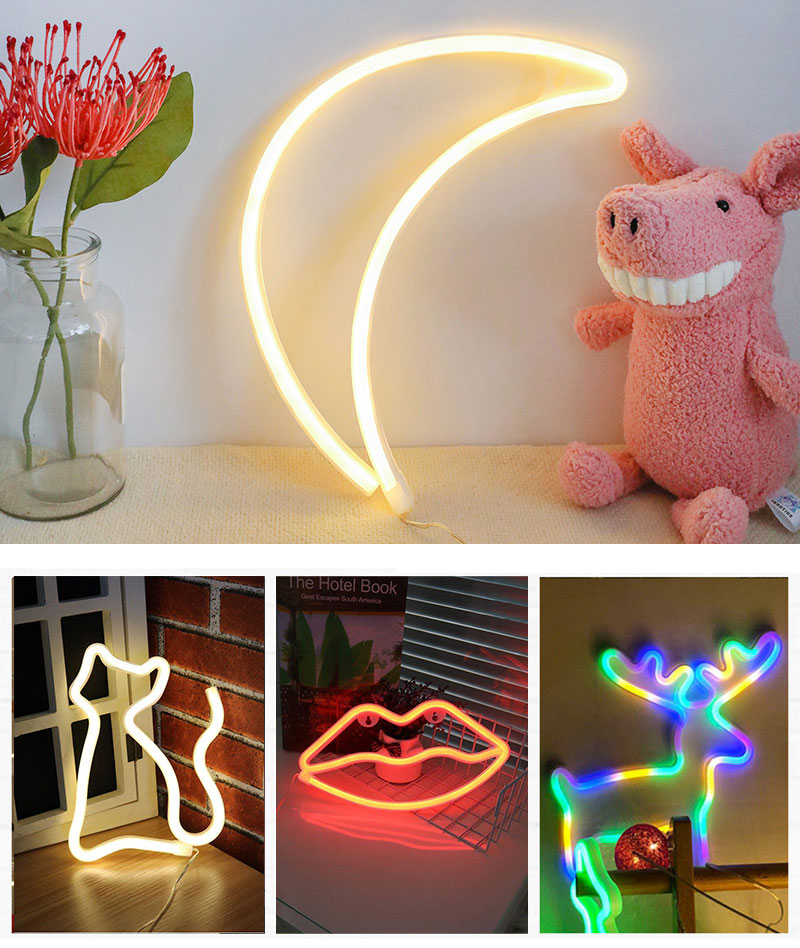 Creative Love in Heart Led Neon Sign Light for Holiday Xmas Party Wedding Decorations Bar Home Wall Decor Fashion Lighting (10)