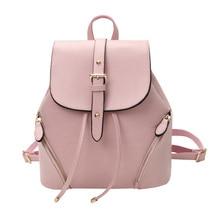 Повседневное кожаный женский рюкзак школьный женские рюкзаки женщин консервативный стиль высокое качество рюкзак сладкие дамы рюкзак XA215B