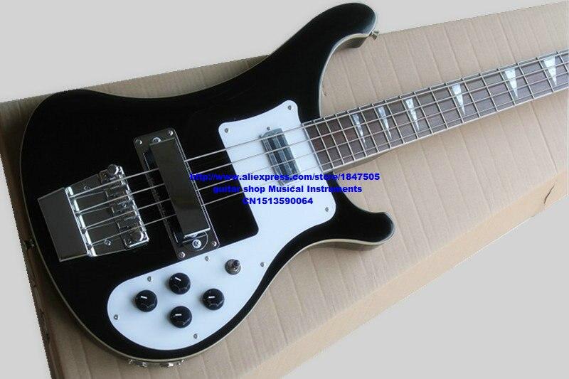 Nouvelle arrivée noir 4003 4 cordes basse électrique matériel corée haute qualité basse guitars livraison gratuite