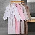 100% хлопок халаты вытирают утолщение халат осенние и зимние любителей ХАЛАТ