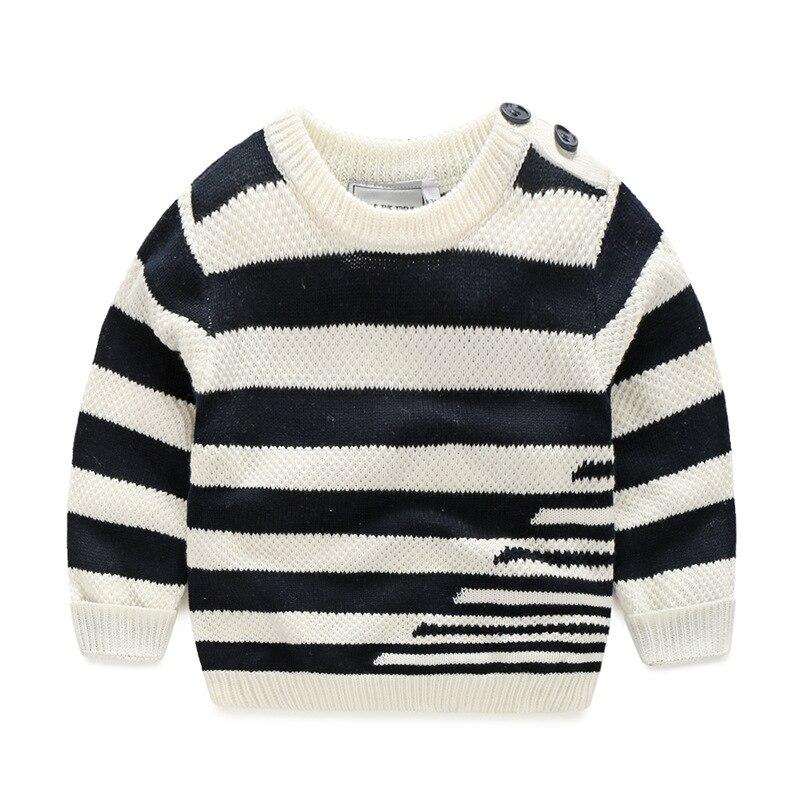 니트 소년 스웨터 스트 라이프 코튼 키즈 스웨터 긴 - 아동복