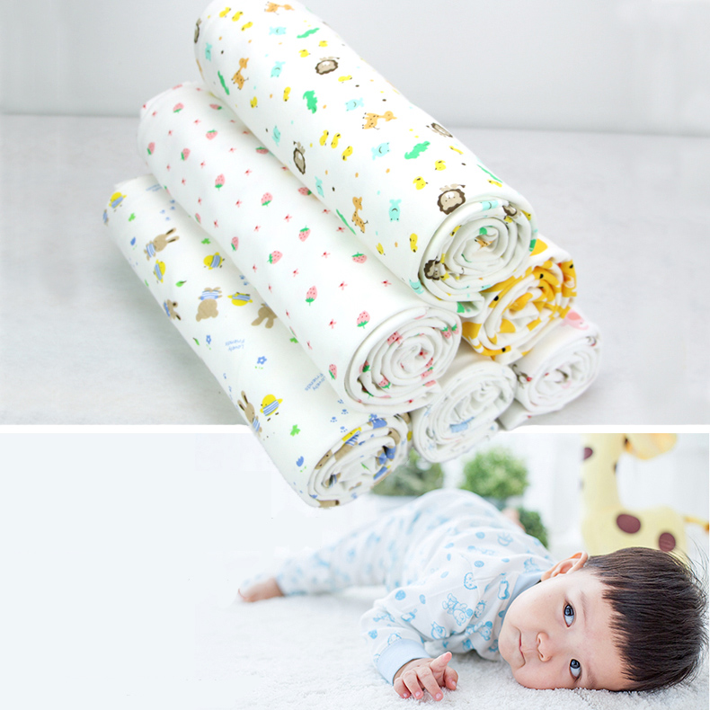 Organic Cotton Knit Fabric For Patchwork Baby Clothes ...