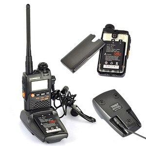 Image 4 - 2 PCS Baofeng UV 3R מיני מכשיר קשר CB חזיר VHF UHF רדיו תחנת משדר Boafeng כפולה כפול להקת Amador Wokï טוקי PTT