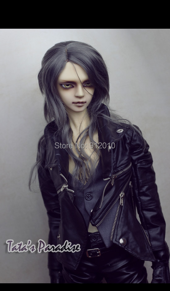 Super Cool Multi-zipper Multi Way to Wear Buckle Motorcycle Leather Jacket for BJD Doll 1/3,SD17,Uncle,SSDF SD Doll Clothes CM2 fashion bjd doll retro black linen pants for bjd 1 4 1 3 sd17 uncle ssdf popo68 doll clothes cmb67