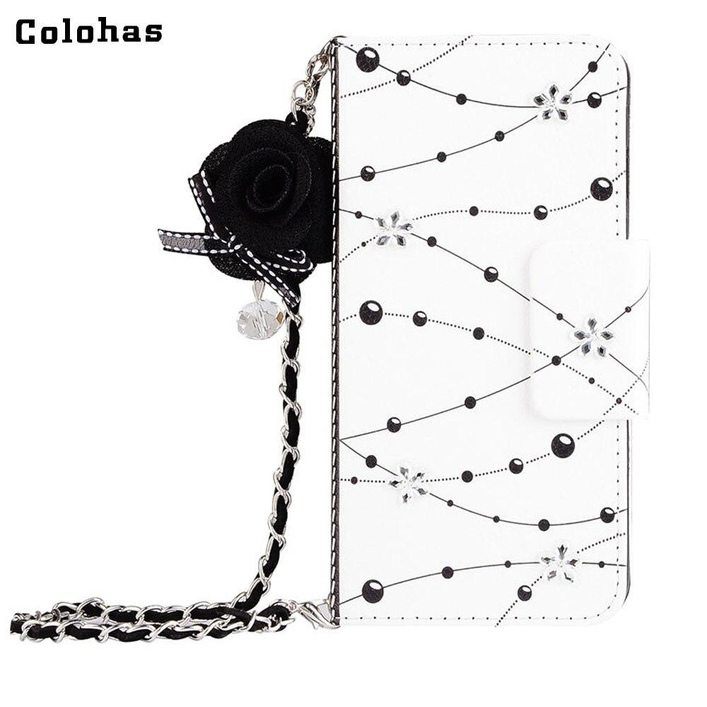 e285daa2734c Colohas новая модная обувь из кожзаменителя кошелек сумка с жемчугом для  iPhone 5 5S SE 6