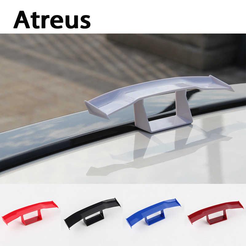 Atreus Auto-styling Auto Mini GT Spoiler Vleugel Carbon Staart Decoratie Voor BMW e46 e39 e36 Audi a4 b6 a3 a6 c5 Renault duster