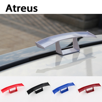 Atreus Car-styling Car Mini GT Spoiler Wing Carbon Fiber Tail Decoration For BMW e46 e39 e36 Audi a4 b6 a3 a6 c5 Renault duster image