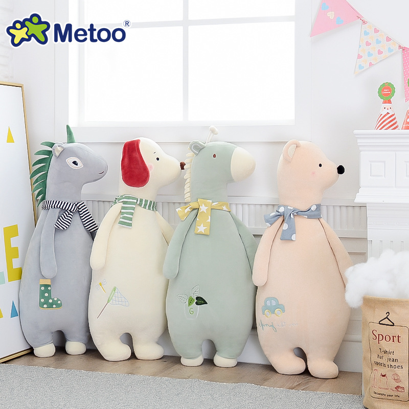 Sofa Cushions Animal Pillow Plush Stuffed Animal Cartoon Kids Toys for Girls Children Baby Birthday Christmas Metoo Doll 13 inch kawaii plush soft stuffed animals baby kids toys for girls children birthday christmas gift angela rabbit metoo doll