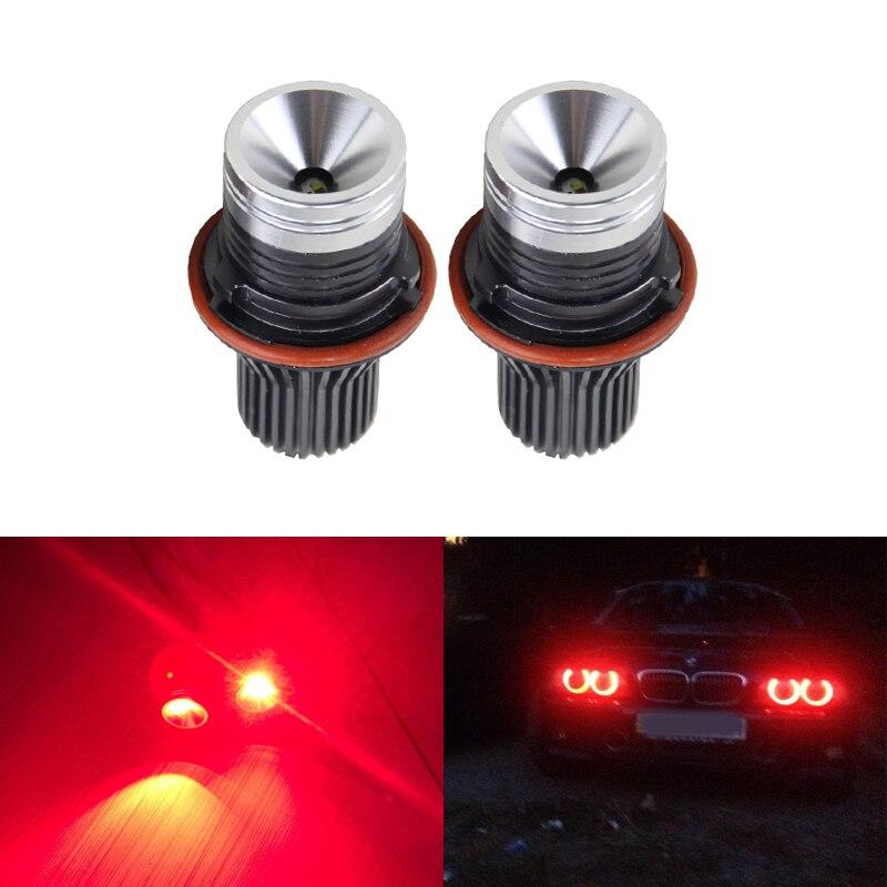 Новые E39 свет ИК дистанционного управления светодиодные маркер глаза Ангела для BMW Е87 Е60 и E61 E63 и e64 Е65 Е66 Е53 Е83/Х5 RGB изменение цвета освещения