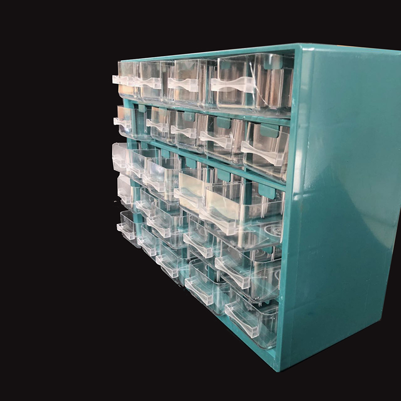 Plastic Box Parts Shelving Garage-Unit Toolbox Organiser Wall-Mounted-Box-Tool Drawer-Type