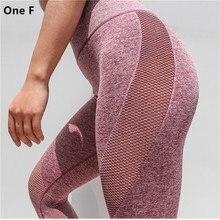 Frauen Side Hole Leggings hohe Taille Bauch Kontrolle Yoga Hosen Gym Kleidung Strech Beute Lift Compression Fitnes Sport Capri