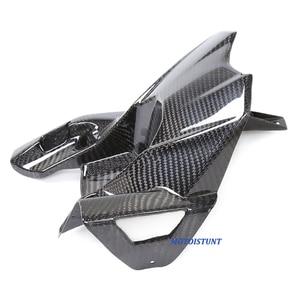 Image 5 - Motorcycle Accessories Carbon Fiber Rear Fender Mudguard Fender Hugger For Kawasaki Z800 ZR 800 Z ZR800 2013 2016 2014 2015