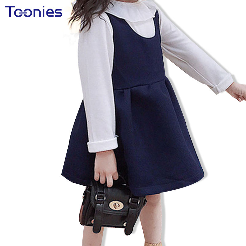 Spring Autumn Clothing Sets Baby Girl Clothes 2017 fashion Sports Wear Girls Suits School Uniform Suit Children Costumes Elegant children clothing sets for boys clothes spring autumn cotton letter sports suits long sleeve teenagers tracksuits school uniform