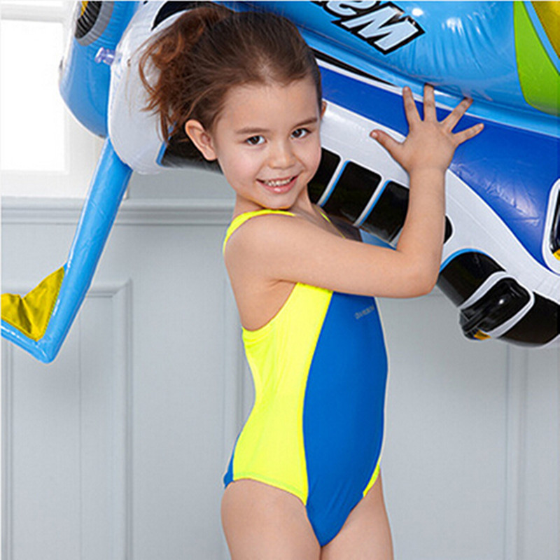 e3e435bfd195c ... Kids Swimmer girls bathing suit infantil swimwear for girls bathers  children one piece swimwear lovely girl ...