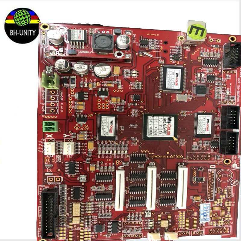 Top quality!!eco solvent printer Wit color ultra 9200 printer parts main board mother board selling wit color 3312 3316 carriage control board printer parts