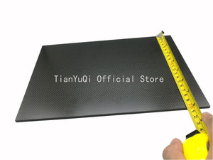 Image 3 - 200X300 mm  High Composite Hardness Material Carbon Fiber Board 0.5, 1,1.5, 2,3, 4, 5mm Carbon Plate Panel Sheets