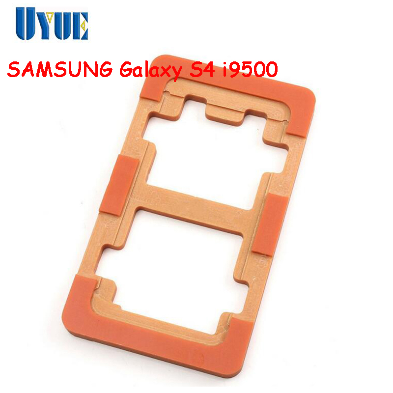 цена на UYUE Outer Glass Repair LOCA Screen Mould Holder For LCD Touch Screen Refurbishment Glueing Mold For SAMSUNG Galaxy S4 i9500