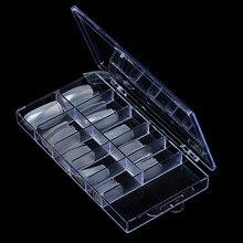 100 Uds transparente acrílico claro transparente Natural francés Gel UV acrílico manicura Artificial falsa herramientas de puntas de manicura 1J9