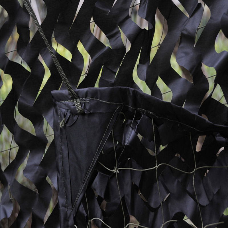 ФОТО Black 3X4m Hunting Camping Military Jungle Camouflage Net Birthday Party Decoration Camo Net Fishing And Hiking Break Used