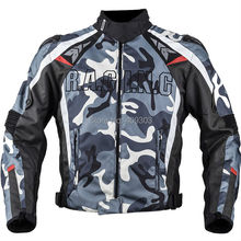 Новый дизайн гонки на мотоциклах камо titanium куртка, зима эндуро гонки куртка с 5 шт. протектор и Съемные Накладки