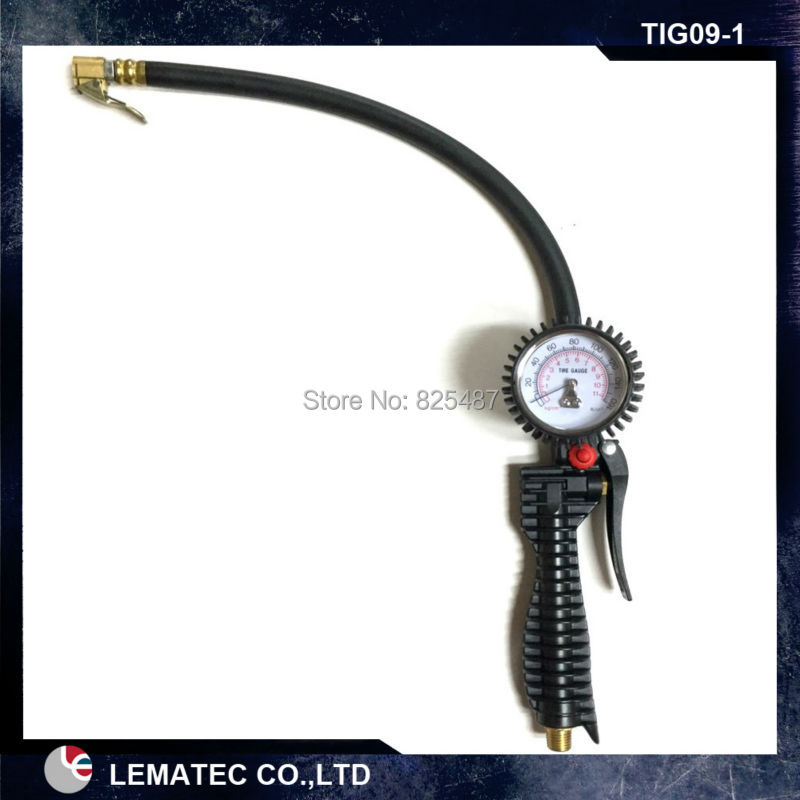 LEMATEC Multifunction Auto Car motorcycle Bicycle Tire Pressure Gauge Air Inflator Gun lematec por multifunction auto car motorcycle bicycle digital tire pressure gauge air inflator gun with aluminum body inflation