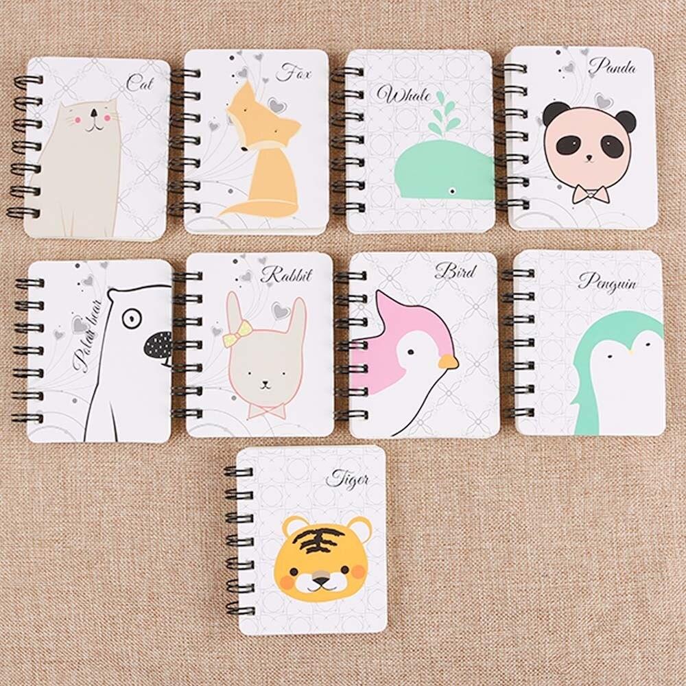 Notebooks & Writing Pads Intelligent 1pc Kawaii Cartoon Creative Stationery Office Supplies School Notebook Diary Panda Bear Notepad Color Random