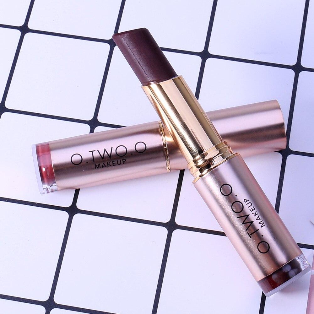 o.two.o New Matt Lip Stick Sammet Färg Koreanska Kosmetika - Smink - Foto 5