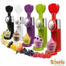 Замороженные фрукты десерт чайник Фрукты мороженое машины или электрический мороженого 110 V-240 V, ЕС или США штекер