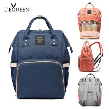 bc611577c7 Baby Diaper Bag Fashion Mummy Maternity Nappy Bag Large Capacity Baby Bag  Bolsa Maternidade Designer Nursing